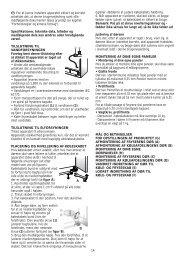 KitchenAid 20FB-L4/A+ - 20FB-L4/A+ DA (858618038000) Installazione