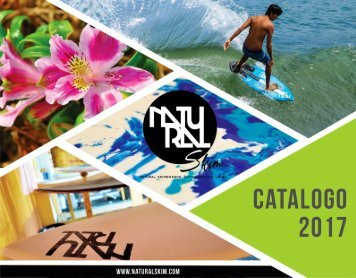 Natural Skimboards - Catalogo 2017