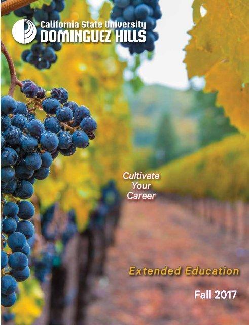 Fall 2017 CSUDH Extended Education Catalog