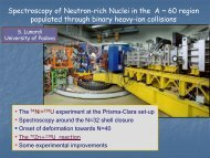 Spectroscopy of Neutron-rich Nuclei in the A ~ 60 region populated ...