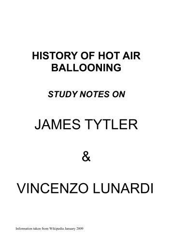 Vincenzo Lunardi - Scotair Balloons