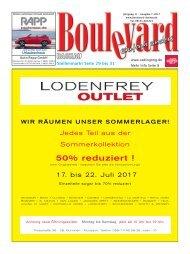 Ausgabe  Boulevard Dachau  7-2017 Druck