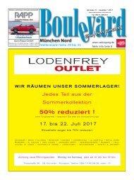 Ausgabe  Boulevard München Nord  7-2017 Druck