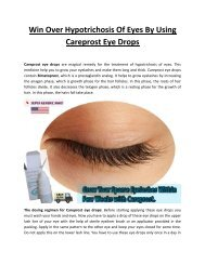 Careprost Best Place To Buy at Cheap Price, UK, USA
