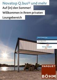 Novatop Q.bus Katalog Parquet Böhm