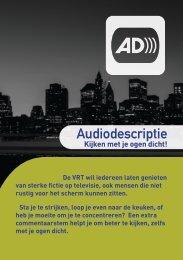 Audiodescriptie kijken met je ogen dicht