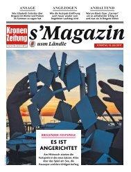 s'Magazin usm Ländle, 16. Juli 2017