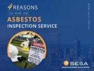 Why Hire an Asbestos Inspection Professional