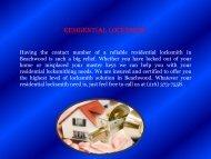 Locksmith Beachwood