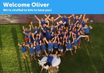 Welcome Oliver