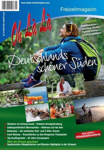 Reise-Special aus dem OhLàLà 2015 – Ostseeküstenradweg