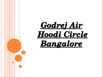 Godrej Air, New Launch Residential Project | Hoodi Circle, Bangalore