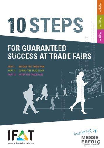IFAT 2018 // 10 steps for guaranteed success at trade fairs