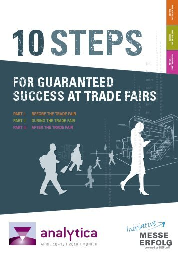 analytica 2018 // 10 steps for guaranteed success at traide fairs