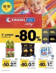 Folleto Eroski City del 13 al 25 de Julio 2017