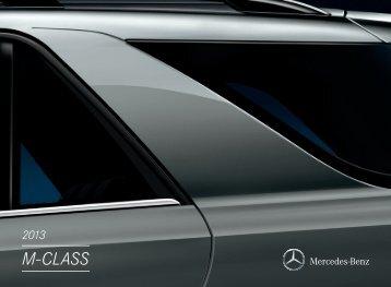 Download The M-Class Brochure - Mercedes Benz USA