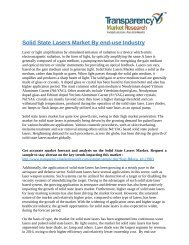 Solid State Lasers Market