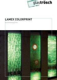 LAMEX COLORPRINT Prospekt - Glas Trösch Beratungs-GmbH