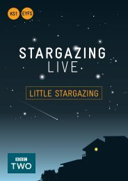 BBC Stargazing Live: KS1 Lesson plans