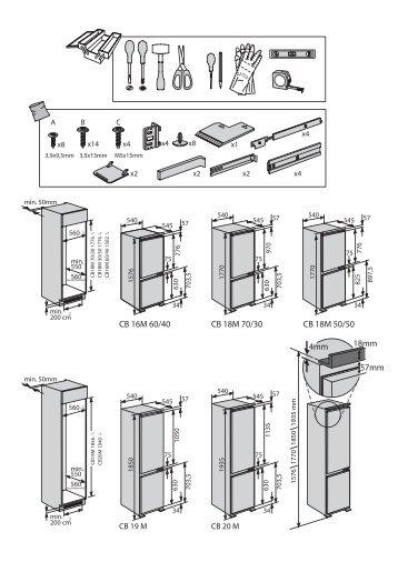 KitchenAid ZCBB 7030 AA - ZCBB 7030 AA EN (859991016990) Installazione