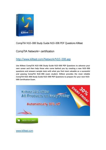 N10-006 CompTIA Certification Training