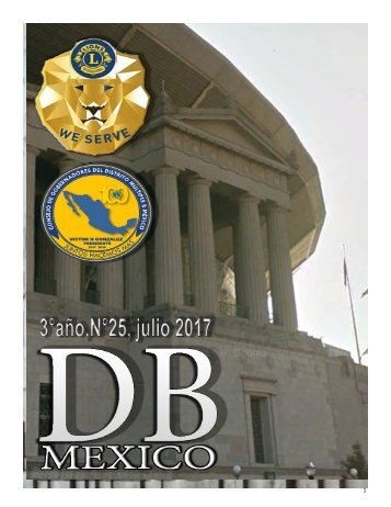 DB MEXICO AÑO 3, N° 25 JULIO 2017