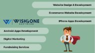 Best Website Design and Development Company - Wishbone Software