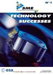 technology & applications - Esa