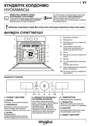 KitchenAid OAKZ9 7921 CS NB - OAKZ9 7921 CS NB KY (859991533860) Setup and user guide