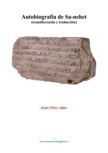 Autobiografia de Sa-nehet (traducción)