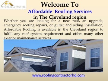 Residential Roofing Chattanooga, TN