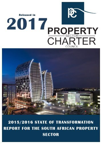Property Sector Charter 2017