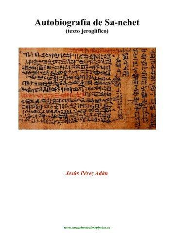 Autobiografia de Sa-nehet (texto)