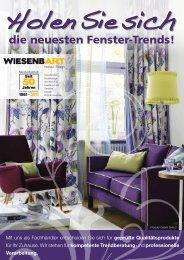 die neuesten Fenster-Trends! - Wiesenbart.de