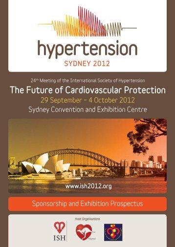 ISH Sponsorship Prospectus V6.indd - Hypertension Sydney 2012