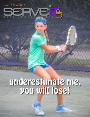 Serveitup Tennis Magazine #18