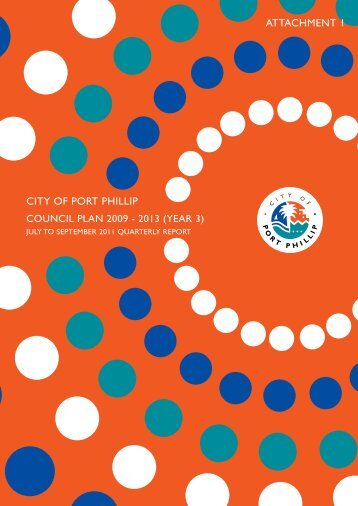 Council Plan (Third Year) Report - City of Port Phillip