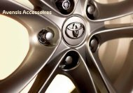 Avensis Accessoires - Toyota