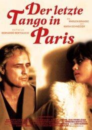 Der letzte Tango in Paris - Gartenbaukino