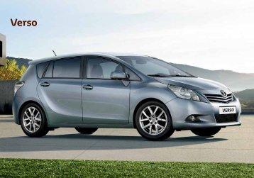Wer einen Verso fährt, kann sich auf die weltweit anerkannten - Toyota