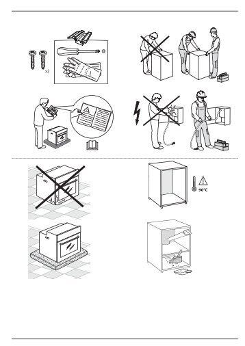 KitchenAid OAKZ9 6210 HS WH - OAKZ9 6210 HS WH DA (859991535880) Health and safety