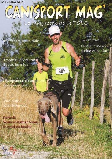 Canisport Mag numéro 1