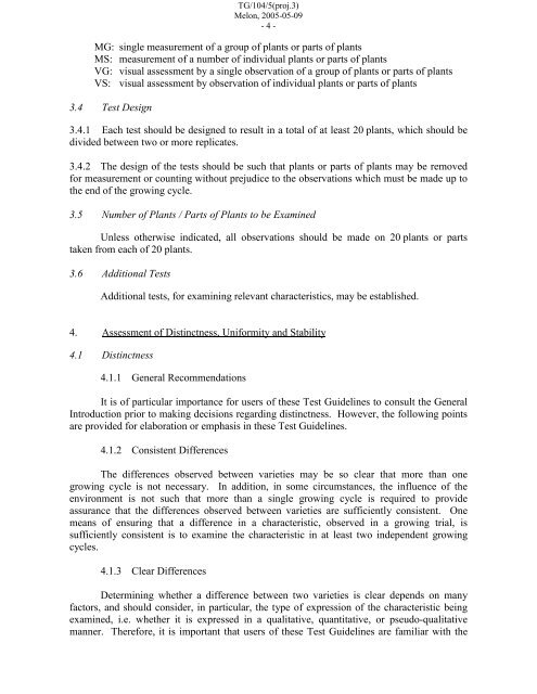 draft - International Union for the Protection of New Varieties of Plants
