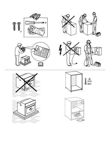 KitchenAid OAKZ9 7921 CS NB - OAKZ9 7921 CS NB LV (859991533860) Health and safety