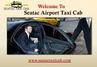 Taxi Cab in Seattle