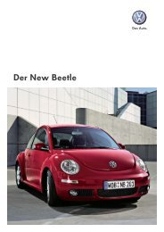 Der New Beetle - Tauwald Automobile