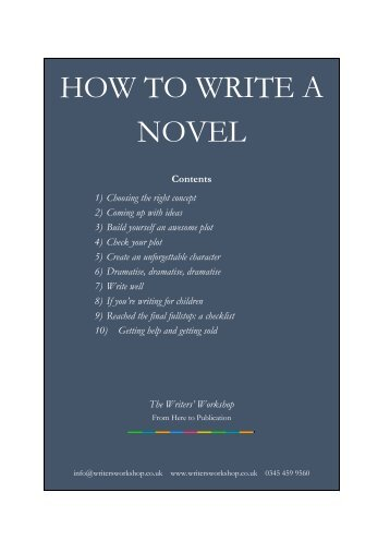 How_to_Write_a_Novel