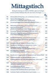 Asia Restaurant Thang Long: Speisekarte