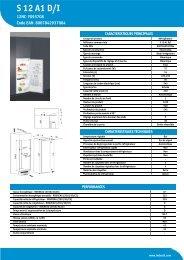 KitchenAid S 12 A1 D/I - S 12 A1 D/I FR (F093708) Product data sheet