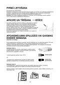 KitchenAid T 16 A1 D/HA - T 16 A1 D/HA LV (853903401500) Istruzioni per l'Uso - Page 2